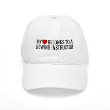 My Heart Rowing Instructor Baseball Cap