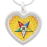 OES In the Sun Silver Heart Necklace