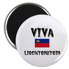 Viva Liechtenstein Magnet