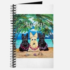Scottish Terrier Aloha Paradise! Journal