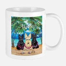 Scottish Terrier Aloha Paradise! Mug