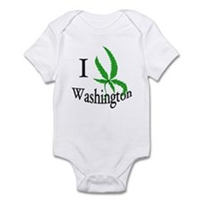 I cannabis Washington Infant Bodysuit