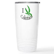 I cannabis Colorado Travel Mug