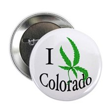 "I cannabis Colorado 2.25"" Button"