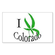 I cannabis Colorado Decal