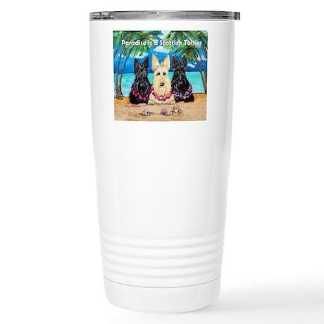 Paradise Scottish Terrier Stainless Steel Travel M