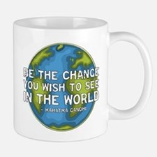 Be the Change - Earth - Green Vine Mug