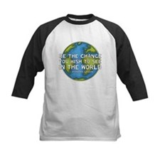 Be the Change - Earth - Green Vine Tee
