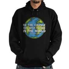 Be the Change - Earth - Green Vine Hoodie