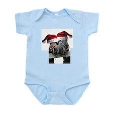 Christmas Horses In Love Infant Bodysuit