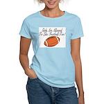 Girls & Football Women's Pink T-Shirt