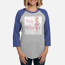 Baby Ballerina.png Womens Baseball Tee