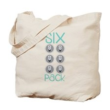 Six Pack Tote Bag