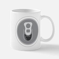 Aluminum Can Top Mug