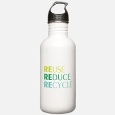 Reduce Reuse Recycle Water Bottle