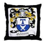 Ortmann Coat of Arms Throw Pillow