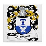 Ortmann Coat of Arms Tile Coaster