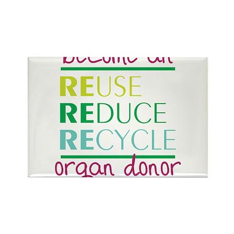 Organ Donor Rectangle Magnet