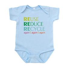 Again And Again Infant Bodysuit