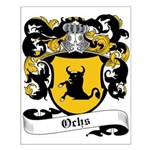 Ochs Coat of Arms Small Poster