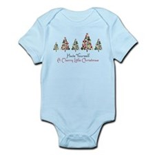 Merry Little Christmas Infant Bodysuit