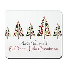 Merry Little Christmas Mousepad