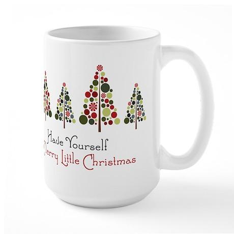 Merry Little Christmas Large Mug