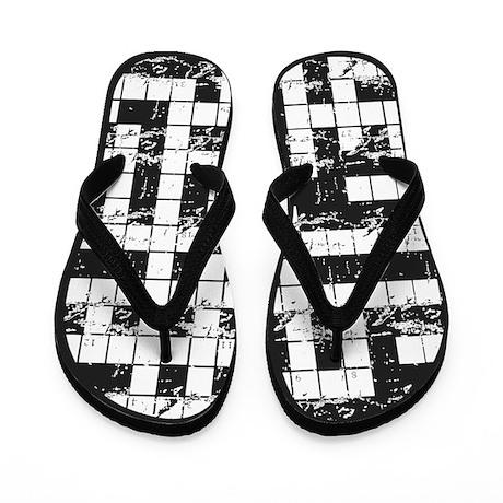 Crossword Puzzle Flip Flops