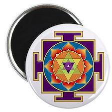 """Sri Ganesha Yantra 2.25"""" Magnet (10 pack)"""
