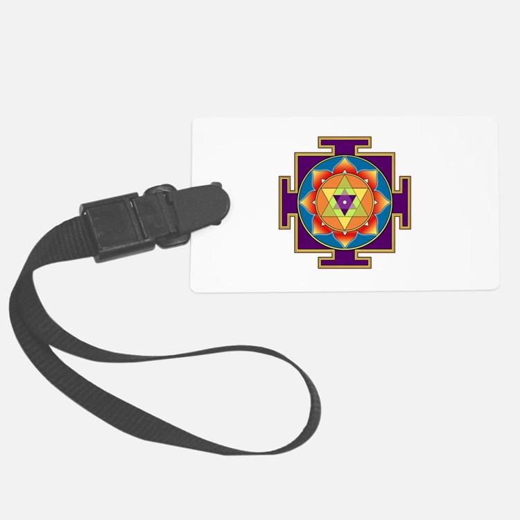 Sri Ganesha Yantra Luggage Tag