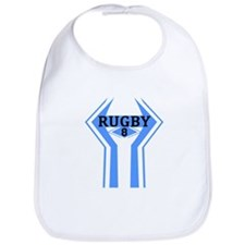 Cute Rugby line out ireland Bib