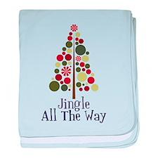 Jingle All The Way baby blanket