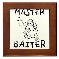 Master Baiter Framed Tile