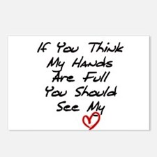 Heart is Full Postcards (Package of 8)