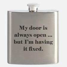 Open Door Policy Flask