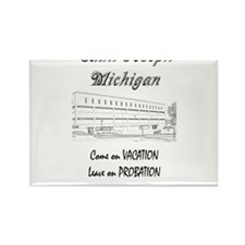 St Joseph Michigan Rectangle Magnet
