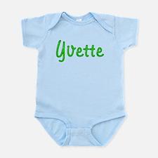 Yvette Glitter Gel Infant Bodysuit