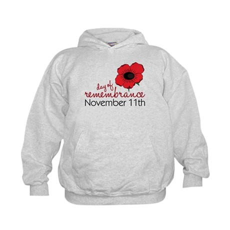 Day Of Remembrance Kids Hoodie