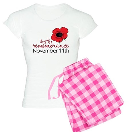 Day Of Remembrance Women's Light Pajamas