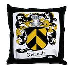 Neumair Coat of Arms Throw Pillow