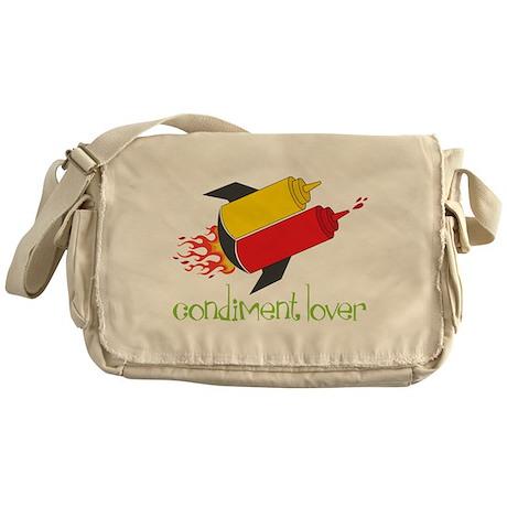 Condiment Lover Messenger Bag