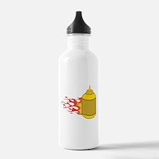 Mustard Bottle Water Bottle