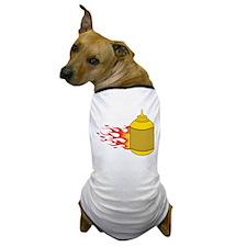 Mustard Bottle Dog T-Shirt
