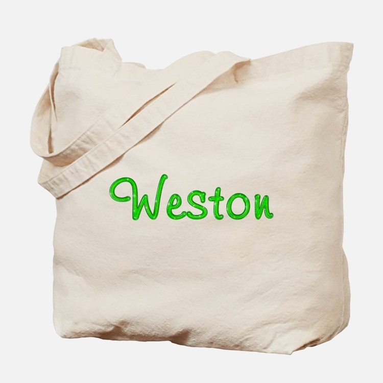 Weston Glitter Gel Tote Bag