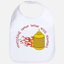 Better With Mustard Bib