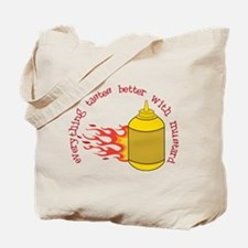 Better With Mustard Tote Bag