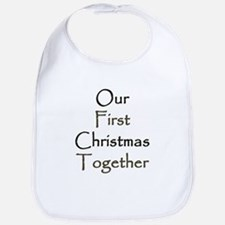 Our First Christmas Together Bib