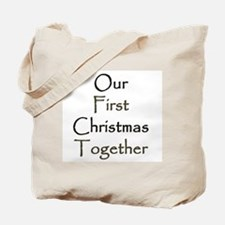 Our First Christmas Together Tote Bag