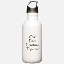 Our First Christmas Together Water Bottle