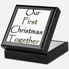 Our First Christmas Together Keepsake Box